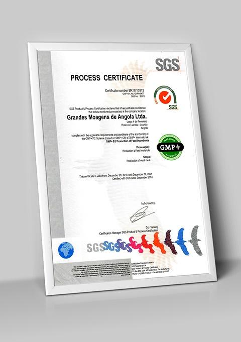 Grande Moagens de Angola é a primeira empresa do continente africano com a certificação GMP+