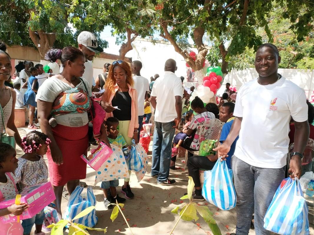 GMA participou em Natal solidário