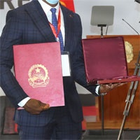 GMA honored by the President of the Republic