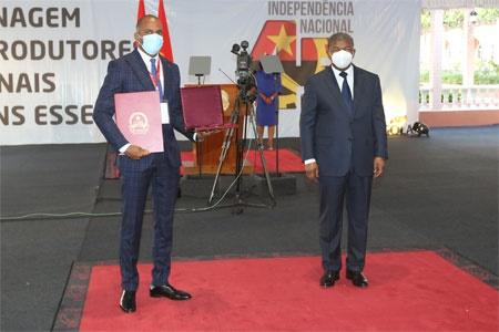 GMA homenageada pelo Presidente da República